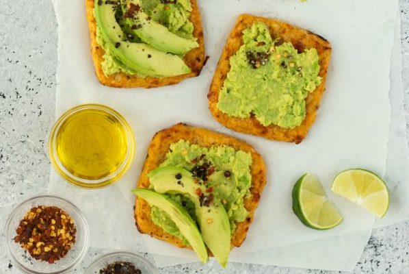 Cauliflower Toast With Avocado
